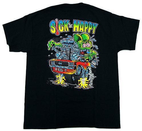 """Ed """"Big Daddy"""" Roth Sick Happy T-Shirt"""