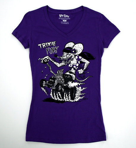 "Ed ""Big Daddy"" Roth Ladies Trixie Fink T-shirt"