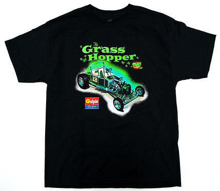 GAS Grass Hopper T- Shirt By Artist Jeff Norwell