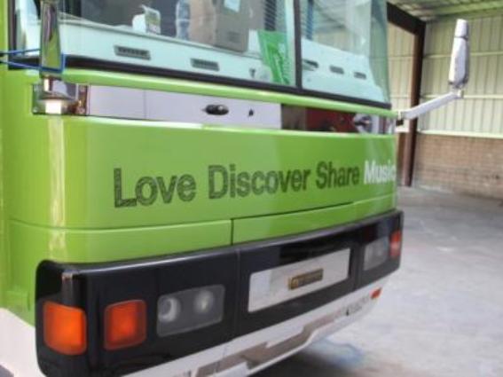 Spotify Bus