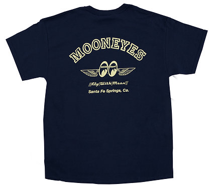 Mooneyes Fly With MOON T-Shirt