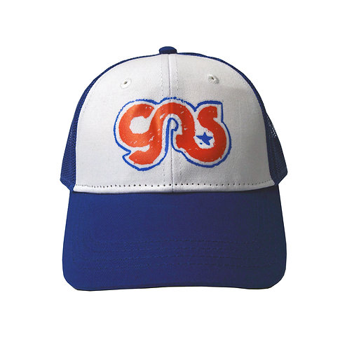GAS Kids Trucker Hat Red, White & Blue