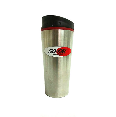 SO-CAL Speed Shop 16oz  Logo Travel Tumbler