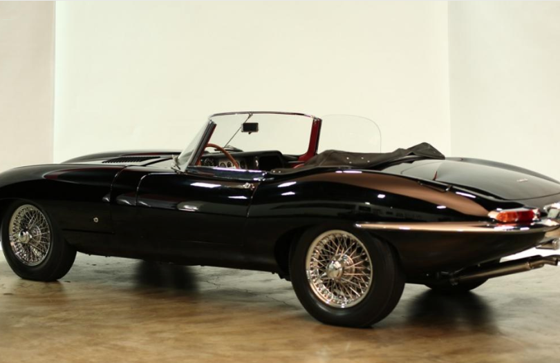 1961 Jaguare E Type Back