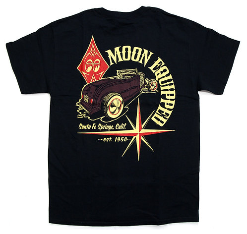 Mooneyes MOON EQUIPPED Classic Roadster T-shirt