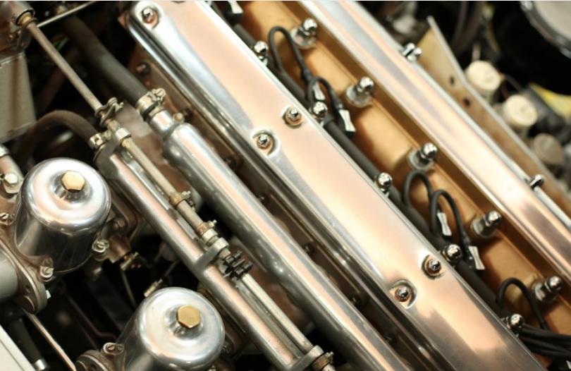 1961Jaguare E Type Motor