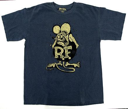 "Ed ""Big Daddy""Roth Original Rat Fink Denim Color T-Shirt"