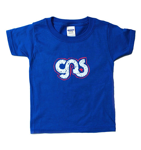 GAS Kids Logo T- Shirt Blue