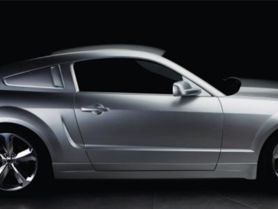 Iacocca 45th Anniversary Silver Edition Mustang