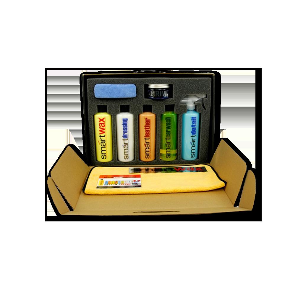SMARTWAX Premium Car Care Kit