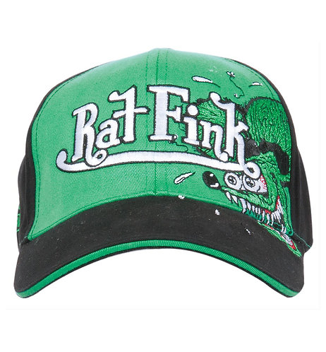 """Ed """"Big Daddy"""" Roth - Rat Fink Embroidered Fink Face Cap"""