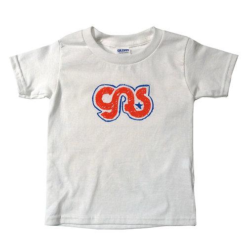GAS Kids Logo T- Shirt Red, White & Blue