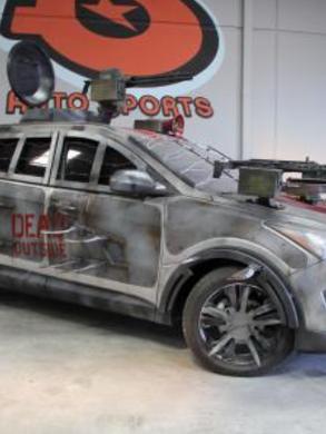 Walking Dead Zombie Survival Machine