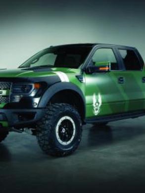 2013 Ford F0150 SVT Raptor Halo 4 Edition