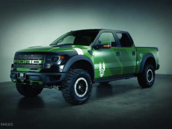 2013 Ford F-150 SVT Raptor Halo 4 Edition