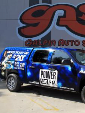 Power 106 - Wehicle wrap