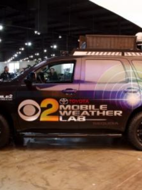 CBS 2 / KCAL 9 - Mobile Weather Lab