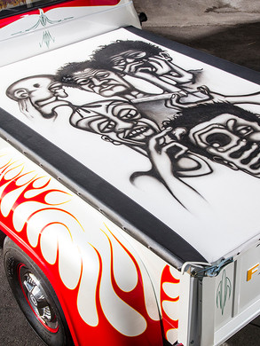 """Ed """"Big Daddy"""" Roth's Shop Truck Bed"""