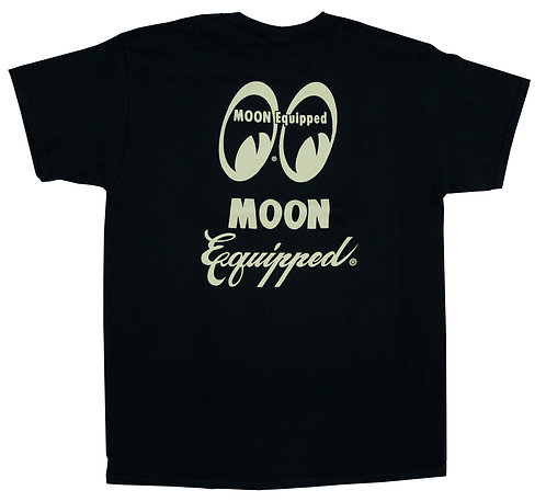 Mooneyes Moon Equipped Script T-shirt