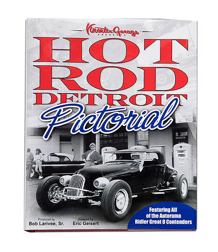 GP Publishing Hot Rod Detroit Pictorial Book