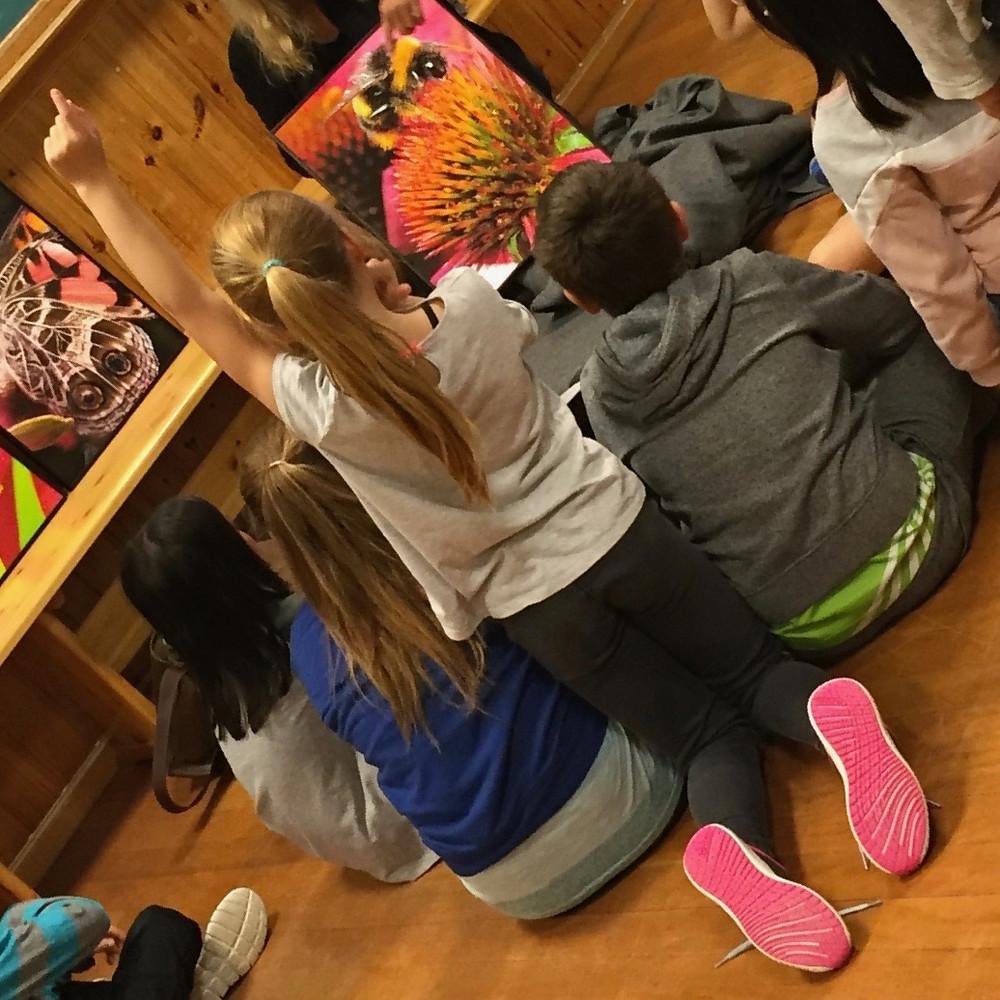 Ivrige elever ved Kodal skole i Vestfold. Foto: Janne Lepperød