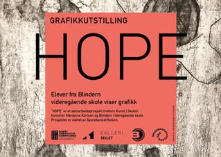 Se grafikkutstillingen HOPE på kisdigital.no