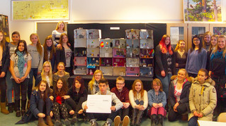 Bingfoss ungdomsskole vant Tidsspeil!