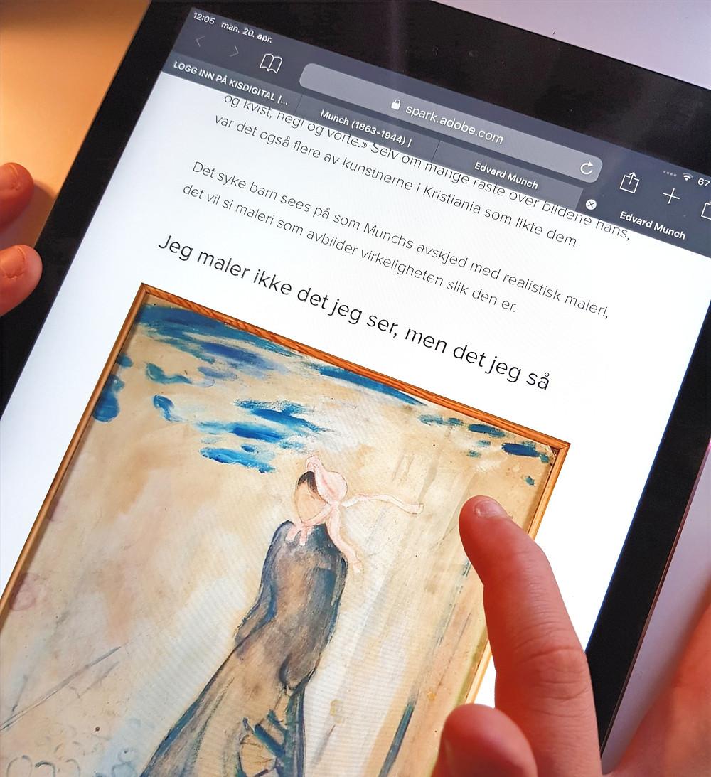 Edvard Munch bildefil