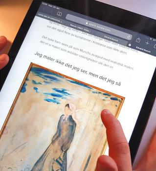 Last ned bildefil om Munch på kisdigital.no!