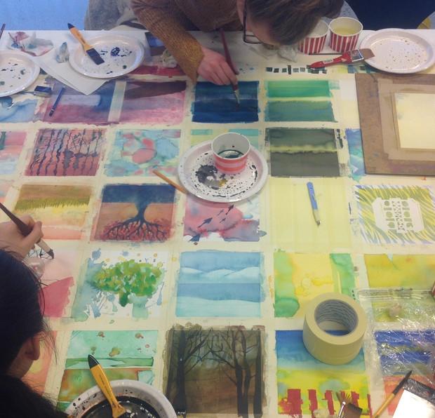 Akvarellkurs med Mona Grønstad - meld deg på her!