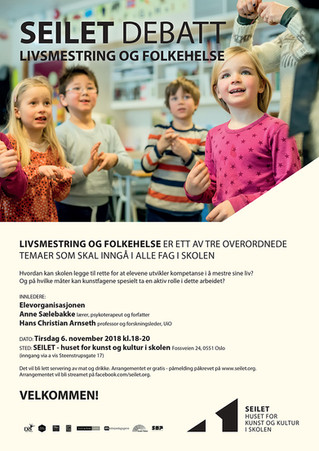 Velkommen til SEILET DEBATT Livsmestring og folkehelse 6. nov 2018