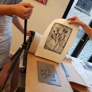 HOPE! Art exhibition with students from Blindern videregående skole, visual arts