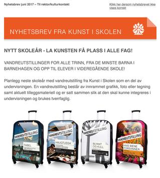 NYTT SKOLEÅR - LA KUNSTEN FÅ PLASS I ALLE FAG!