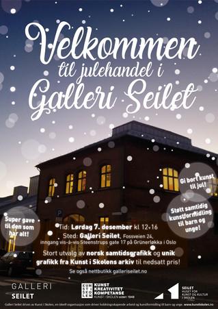 Velkommen til julehandel i Galleri Seilet!