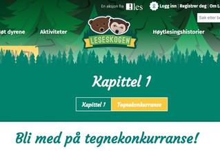 Å TEGNE TIL TEKST Kunst i Skolen i samarbeid med Foreningen !les