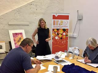 Presentasjon av Kunst i Skolen –  for engasjerte lærere og kulturkontakter fra Larvik og Lardal.