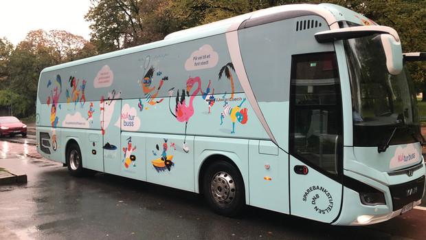 Kulturbuss - kom på utstilling med gratis transport!