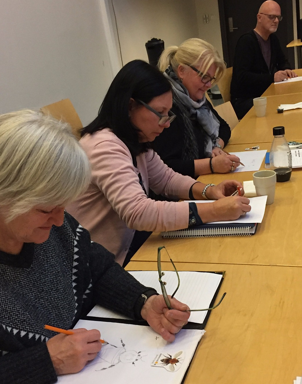 Engasjerte lærere og kulturkontakter fra Larvik og Lardal