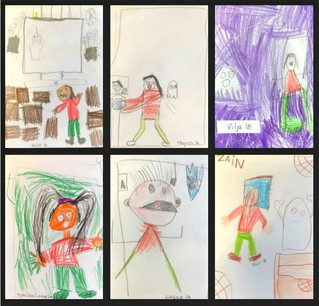 Se vinnerne i tegnekonkurransen «Sulten på skrekk» :O