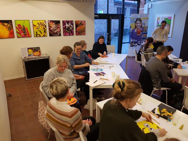 Seminar på Seilet 26. feb: 'Tema livsmestring - Med kunst som utgangspunkt for å snakke om følel