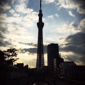 Visiting the Sky Tree