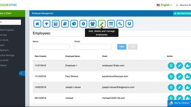 Ledgersync 2.0 Employee Management