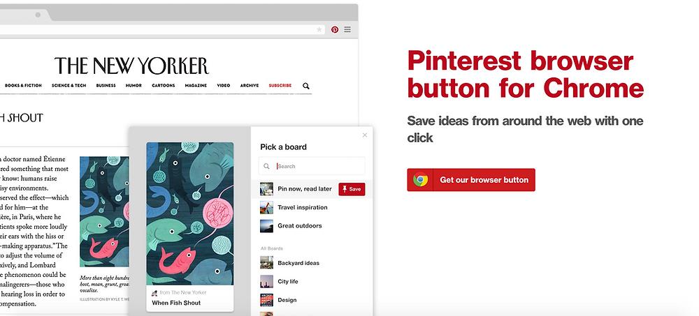 Pinterest for designers