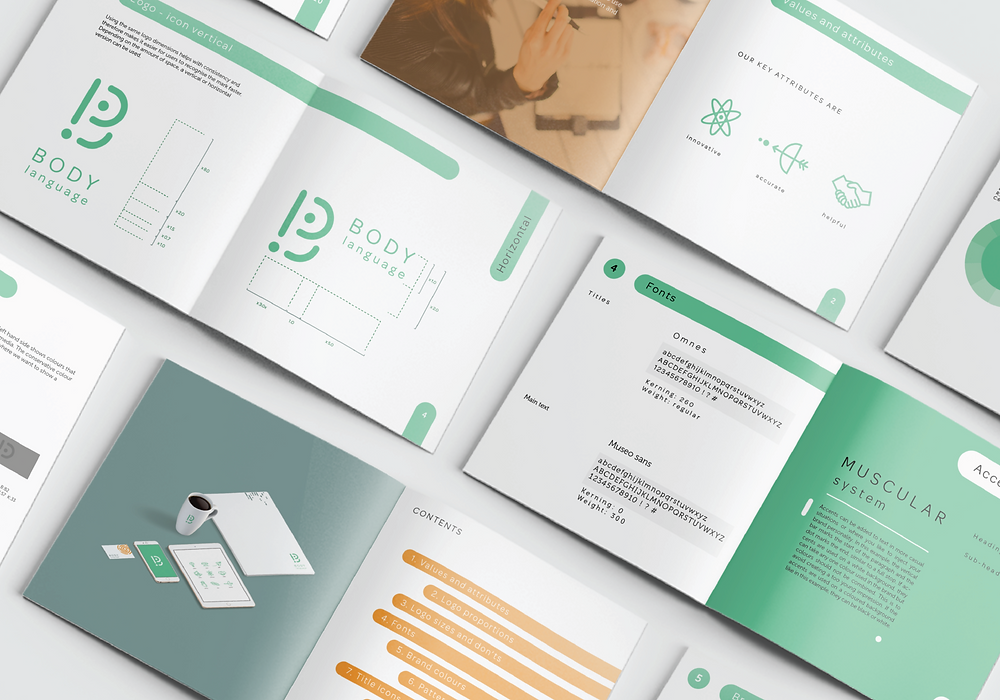 how to design brand guidelines