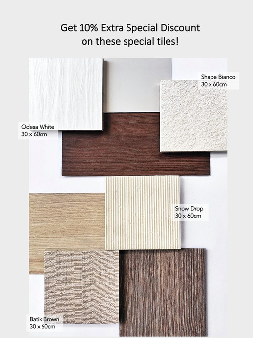 Offer Tiles Mood Board