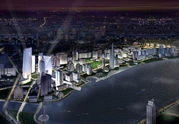 North Bund Masterplan; 100 hectare urban masterplan; Shanghai, PRC