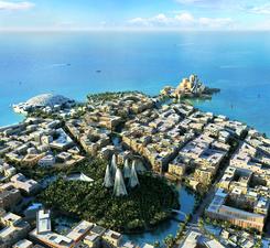 Saadiyat Island Masterplan, Abu Dhabi, UAE