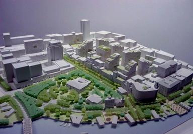 New Bund/Rockefeller Group International; 3.7 million gsf mixed-use and preservation; Shanghai, PRC