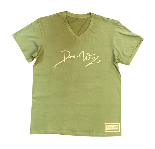 DWA OLIVE GREEN WITH CREAM T-SHIRT