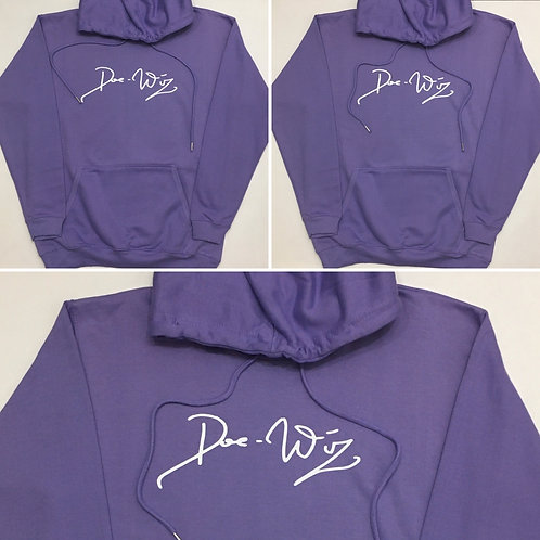 DWA LAVENDER PULL OVER HOODIE